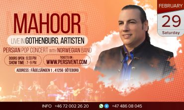 Mahoor Live in Gothenberg