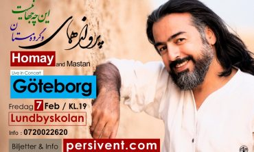 Homay and Mastan live in Gothenburg