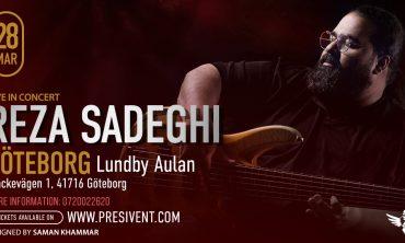 Reza Sadeghi Live in Gothenburg